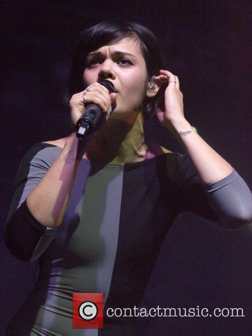 Bat for Lashes aka Natasha Khan performs live...