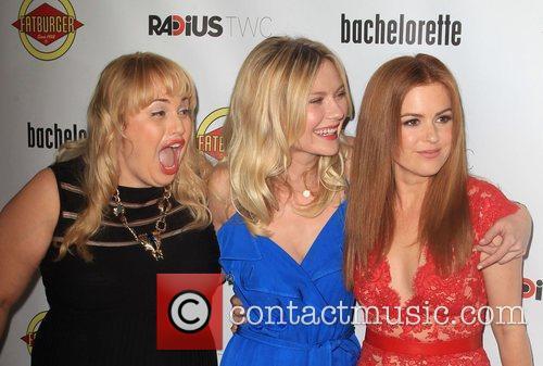 Rebel Wilson, Kirsten Dunst, Isla Fisher  at...