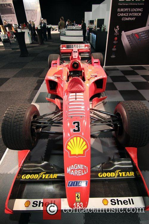 Michael Schumacher's 1998 Ferrari F1 race car Preview...