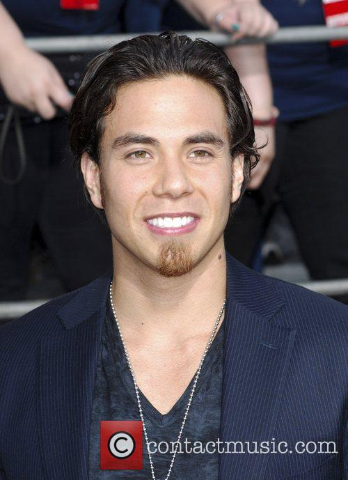 Apolo Anton Ohno Battleship premiere at the NOKIA...