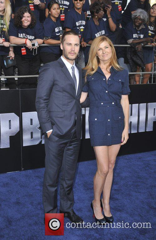 Battleship premiere at the NOKIA Theatre - arrivals...