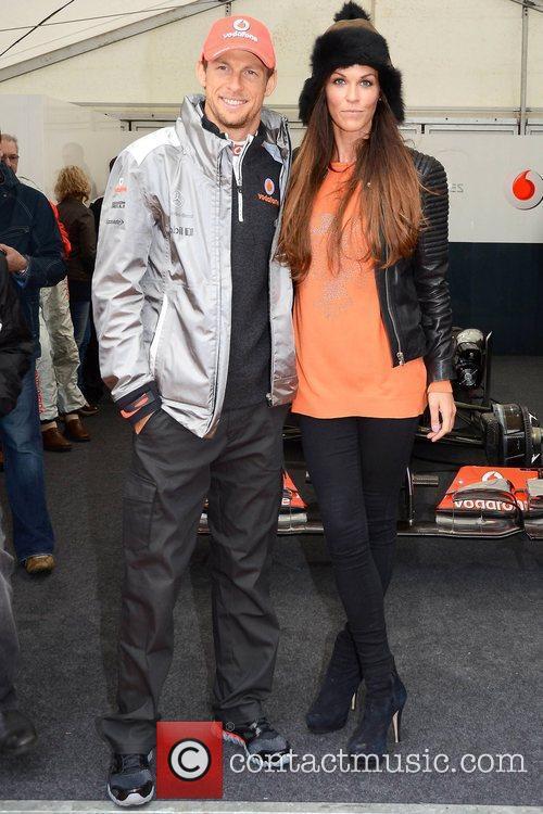 Jenson Button and Glenda Gilson 2