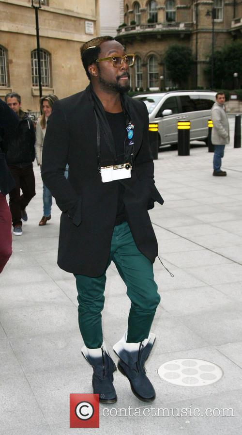 Will.i.am and Bbc Radio 2 Studios 4