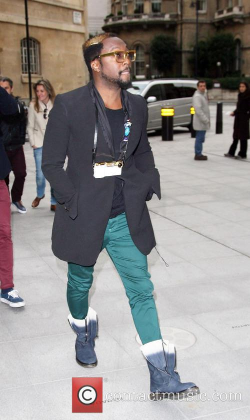 Will.i.am and Bbc Radio 2 Studios 3