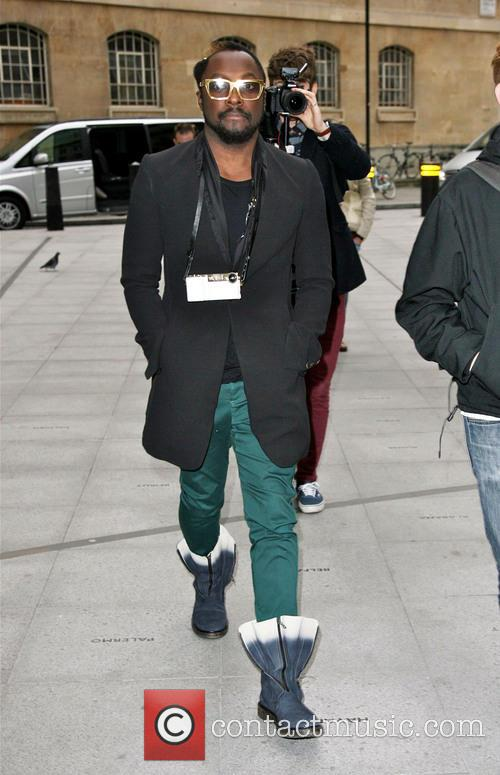 Will.i.am and Bbc Radio 2 Studios 1