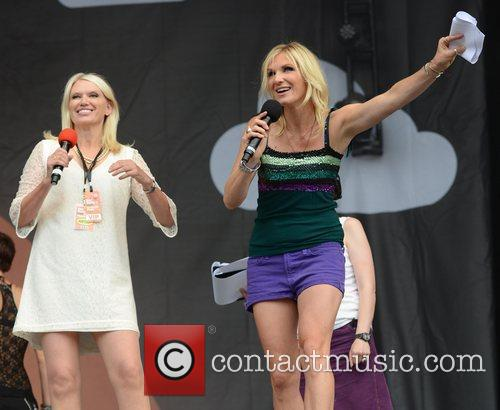 Anneka Rice and Jo Whiley 2