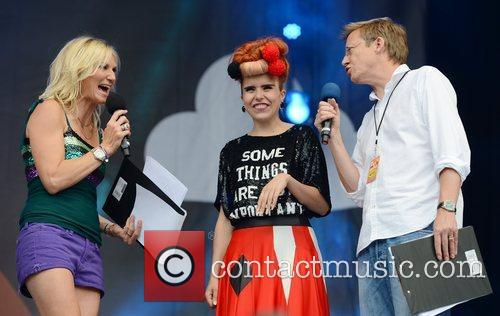 Jo Whiley and Paloma Faith 1