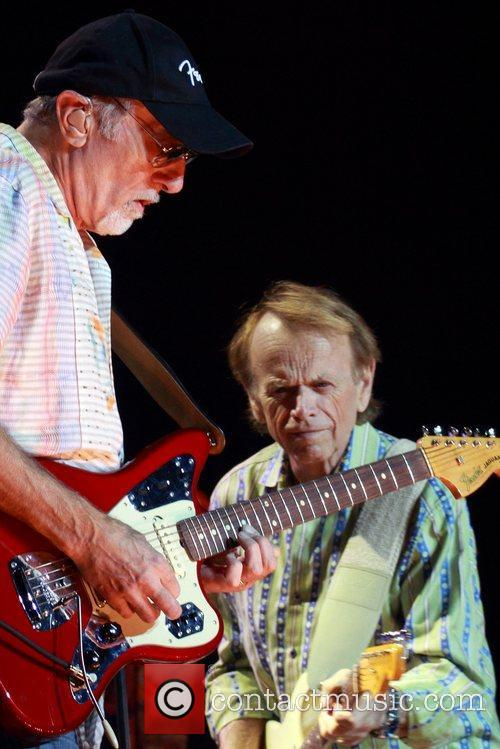 The Beach Boys performing at the Entertainment Centre