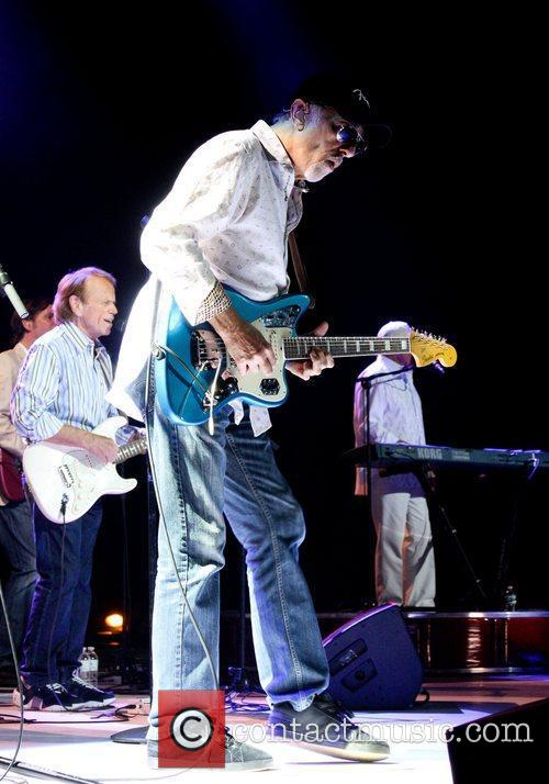 David Marks The Beach Boys performing during their...