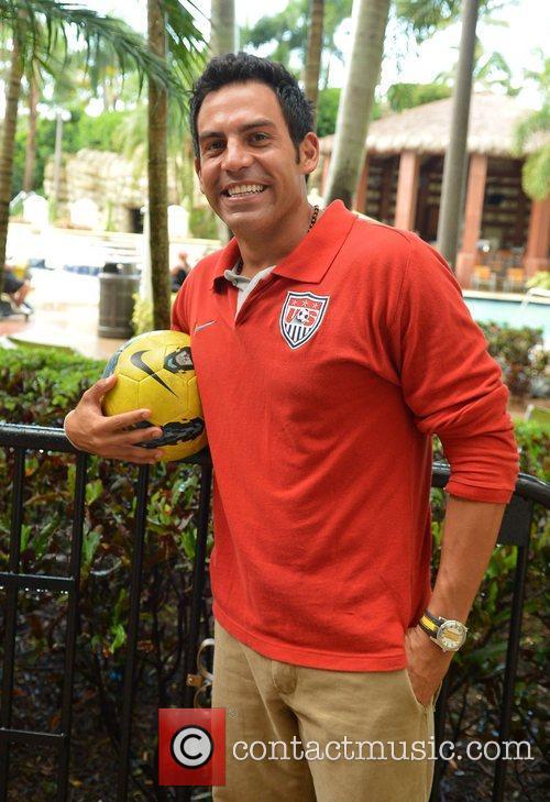 U.S. team player, Oscar Gil  attends Beach...