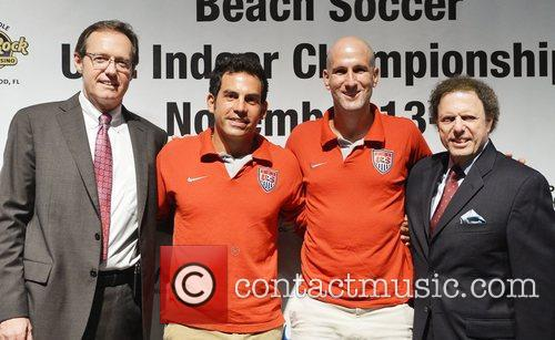 Attend Beach Soccer U.S. Indoor Championships press conference...