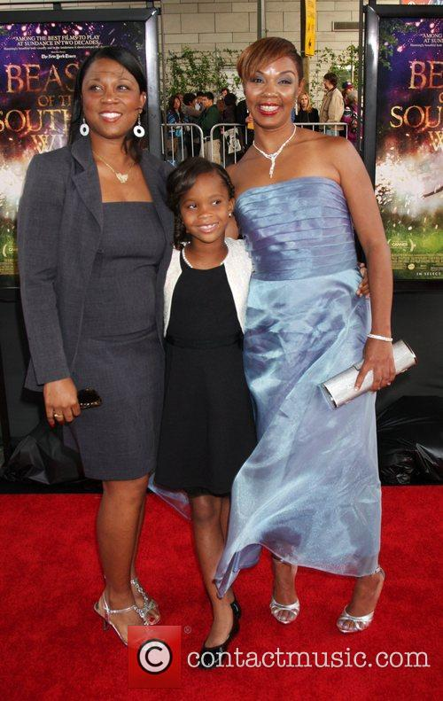 Quevenzhane Wallis, Jovan Hathaway and Guest Film Independent's...