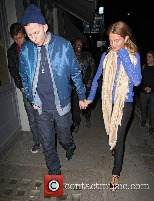 Celebrities of Made In Chelsea leaving Beaufort House...