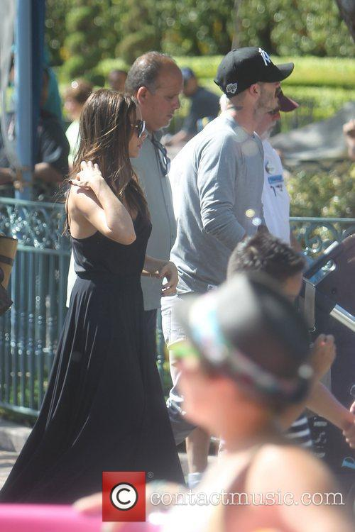 Victoria Beckham, David Beckham and Disneyland 2