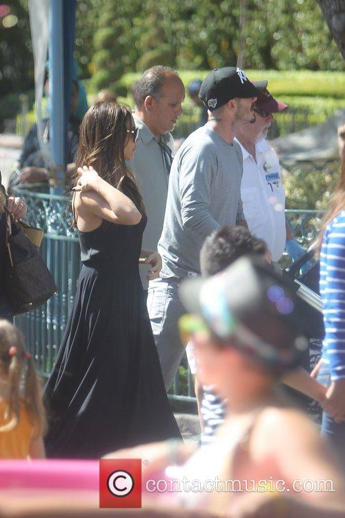 Victoria Beckham, David Beckham and Disneyland 4