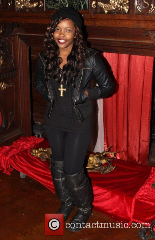 Brea Renee 'Behind The Palace Walls' Christmas party...