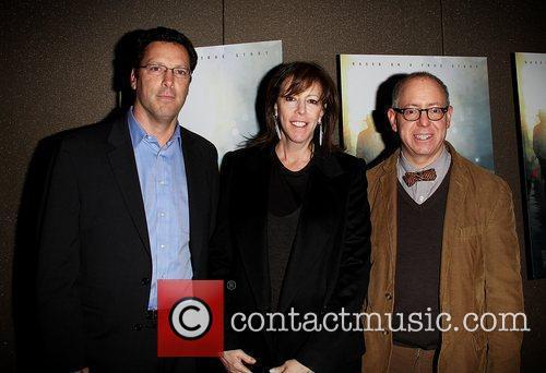 Andrew Karpan, Jane Rosenthal and James Schamus Attending...