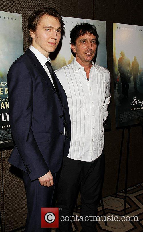 Paul Dano and Nick Flynn Attending a screening...
