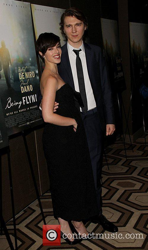 Plivia Thirlby and Paul Dano Attending a screening...