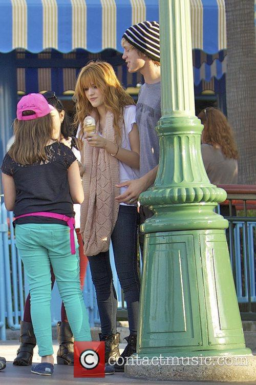 Bella Thorne, Tristan Klier and Disneyland 4