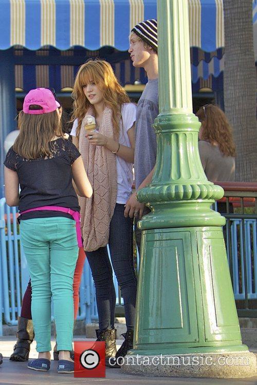 Bella Thorne, Tristan Klier and Disneyland 12