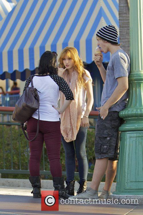 Bella Thorne, Tristan Klier and Disneyland 6
