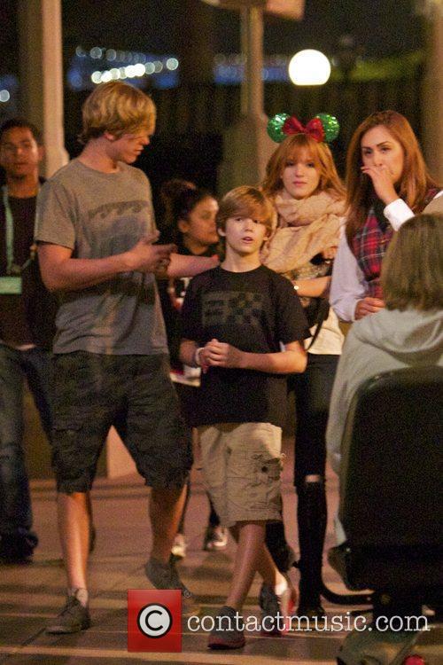Bella Thorne, Tristan Klier and Disneyland 16