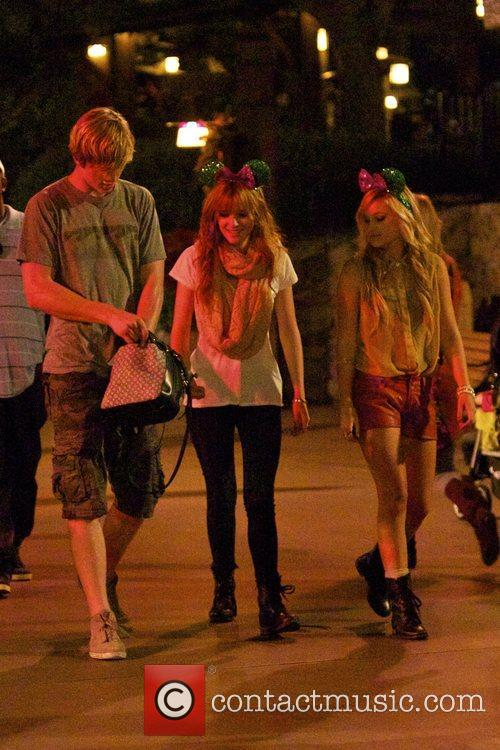 Bella Thorne, Tristan Klier and Disneyland 5