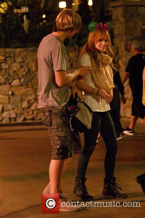 Bella Thorne, Tristan Klier and Disneyland 9