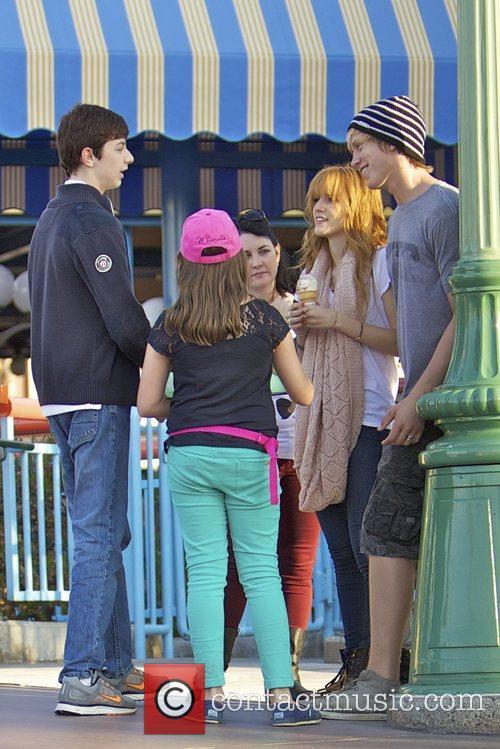 Bella Thorne, Tristan Klier and Disneyland 10