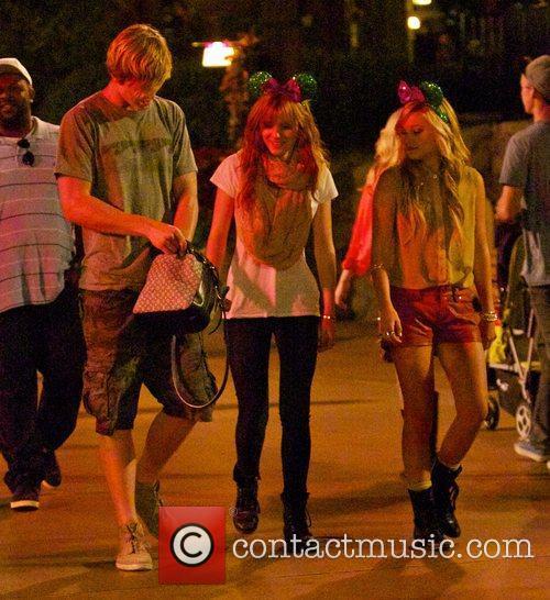 Bella Thorne, Tristan Klier and Disneyland 13