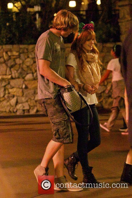 Bella Thorne, Tristan Klier and Disneyland 3