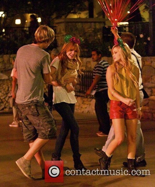 Bella Thorne, Tristan Klier and Disneyland 7