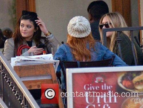 Bella Thorne; Kylie Jenner Bella Thorne and Kylie...