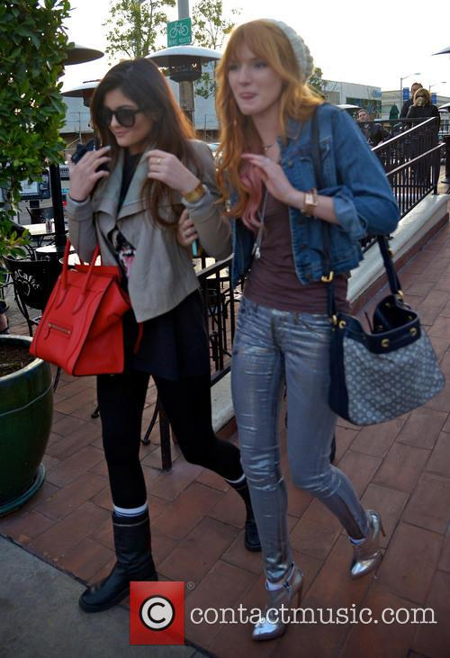 Bella Thorne and Kylie Jenner have lunch with...