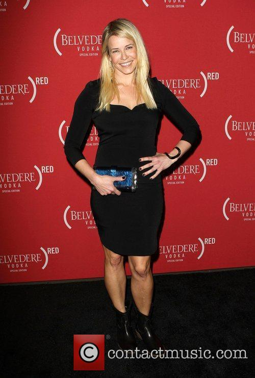 Chelsea Handler and Grammy 9