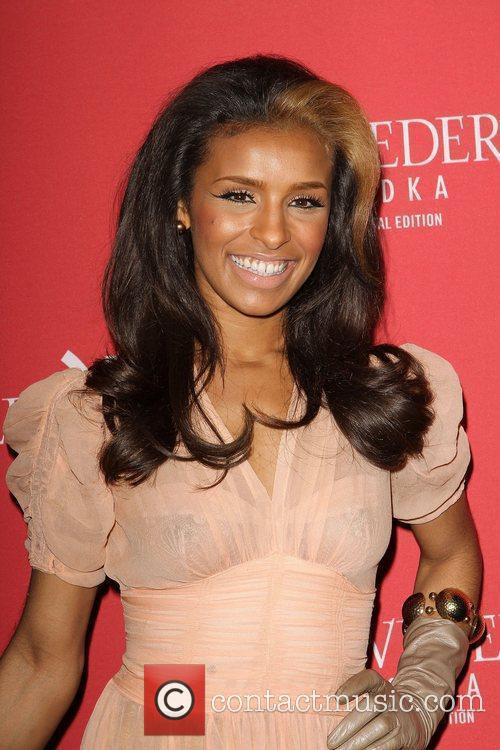 Melody Thornton and Grammy 1