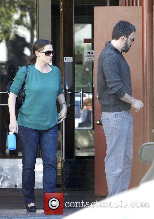 Ben Affleck and Jennifer Garner out and about...