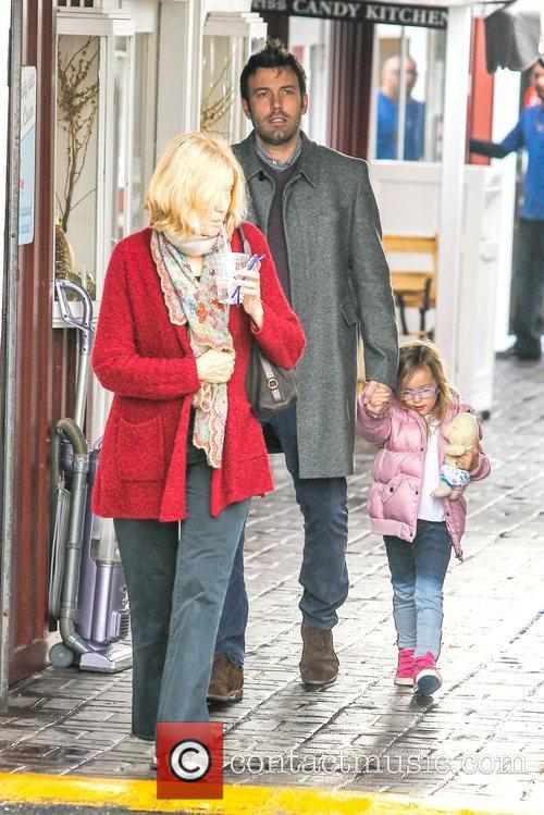 Ben Affleck and Seraphina Affleck 3