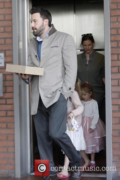 Ben Affleck; Jennifer Garner; Seraphina Affleck Ben Affleck...