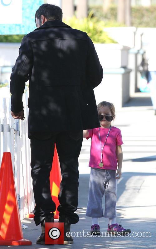 Ben Affleck and Jennifer Garner take their daughters...