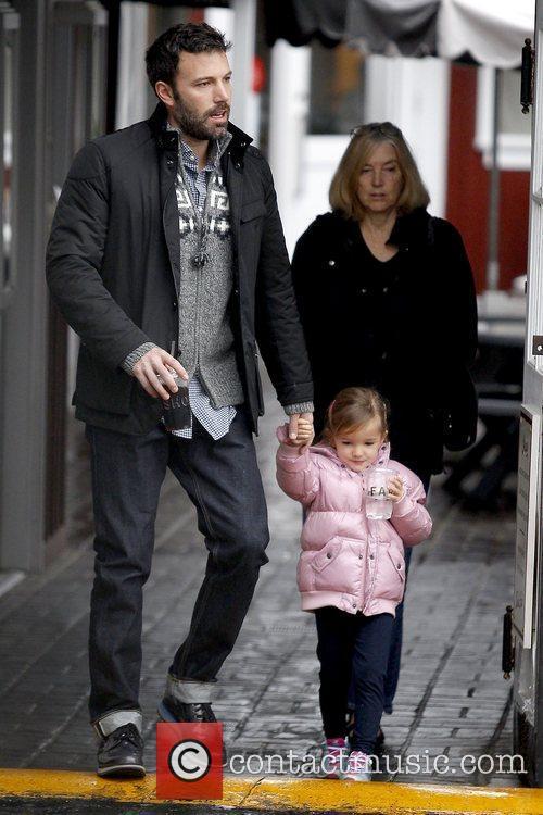 Ben Affleck, Seraphina Affleck and Chris Affleck 5