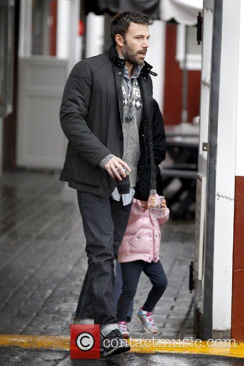 Ben Affleck and Seraphina Affleck 3
