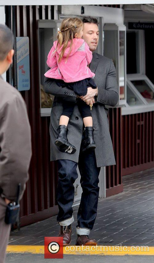 Ben Affleck and Seraphina Affleck 11
