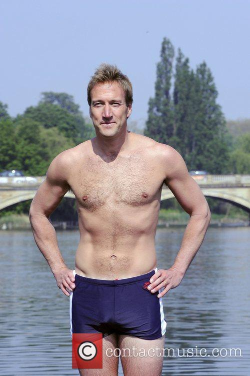 The Atlantic Swim - photocall at the Serpentine...