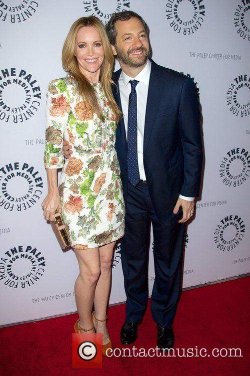 Leslie Mann and Judd Apatow  'The Ben...