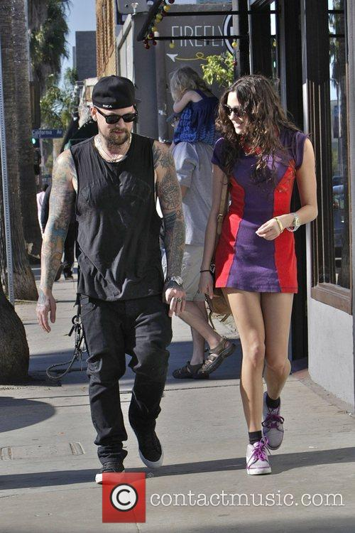 Benji Madden and girlfriend Eliza Doolittle  heading...