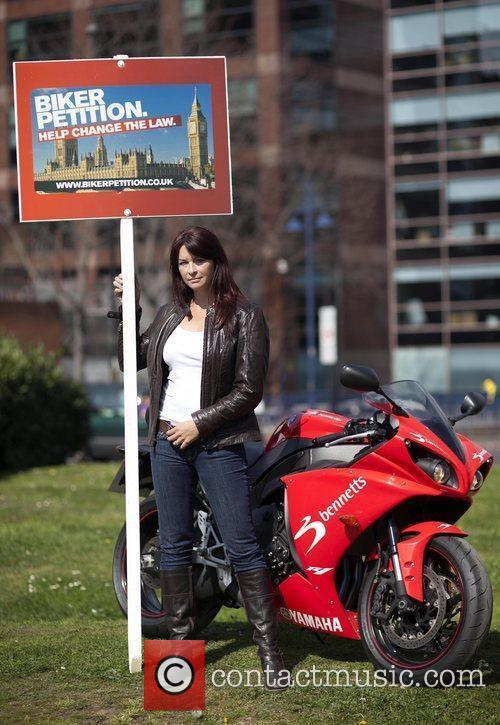 Television presenter Suzi Perry stands at the Elephant...