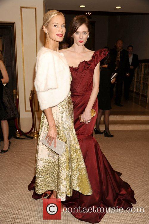 Carolyn Murphy and Coco Rocha  Bergdorf Goodman...