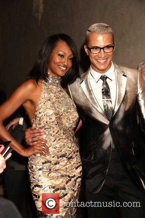 Nichole Galicia and Jay Manuel